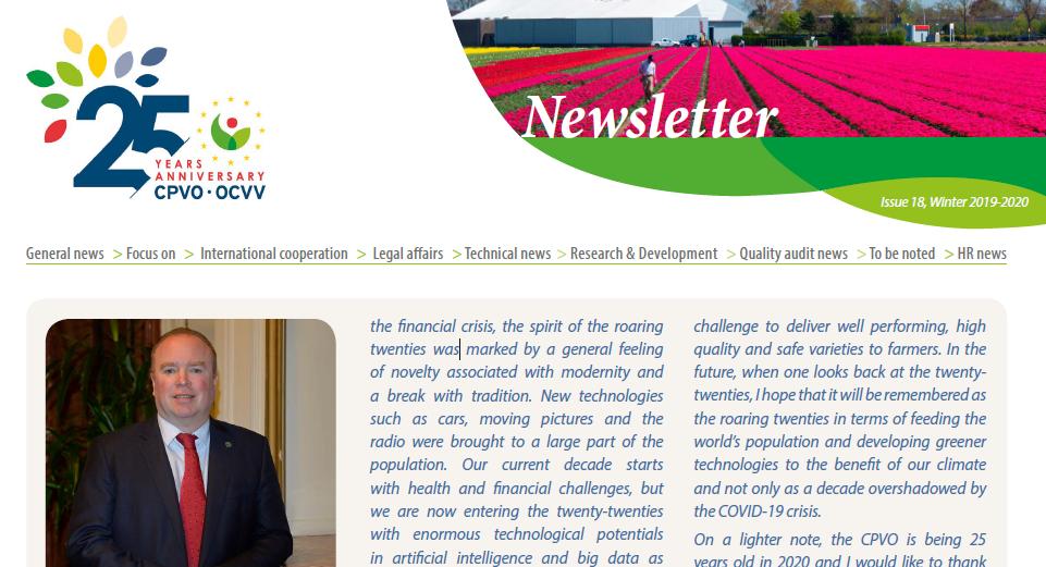 CPVO newsletter 18