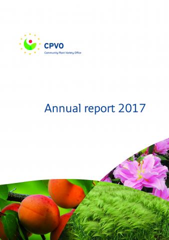 cover CPVO Annual report 2017