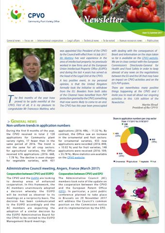CPVO Newsletter #13